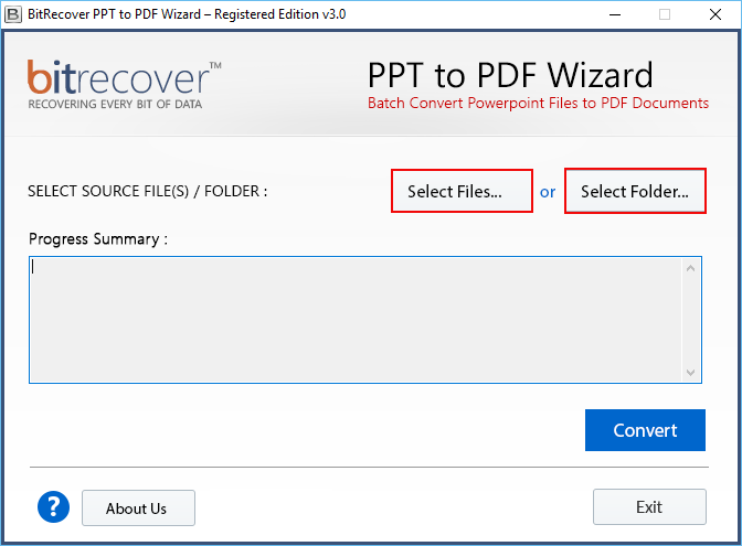 run ppt,pptx to pdf tool