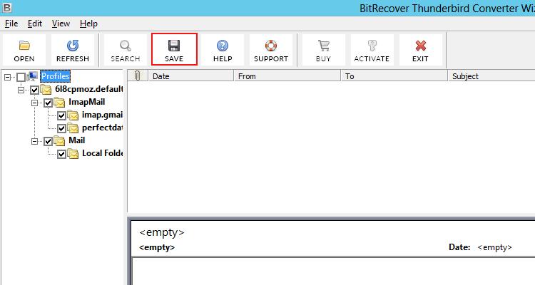 Thunderbird Converter to Export Thunderbird to Outlook PST